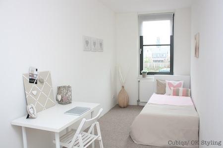 19. HomeStaging con mobili in cartone cubiqz per camera da lettoHome staging with CUBIQZ cardboard bed